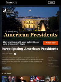 Investigating American Presidents | Kanopy