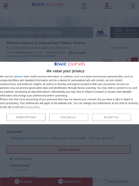 Medical Aspects of Transgender Military (2015). M. Joycelyn Elders, George R. Brown, Eli Coleman, Thomas A. Kolditz, Alan M. Steinman. Armed Forces & Society 2015, Vol. 41(2) 199-220.
