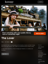 Watch The Lover now | Kanopy