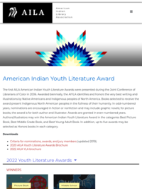 American Indian Youth Literature Award