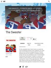 The Sweater | National Film Board