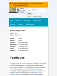 AHC Yearbooks Collection