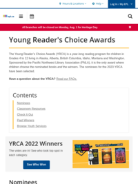 Check out more YRCA titles and cast your vote now!