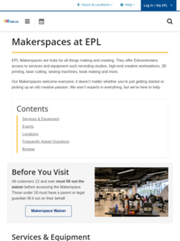 About the Makerspace
