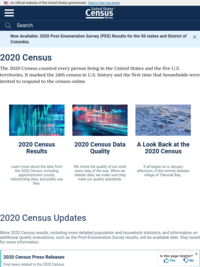 2020 Census: Counting Young Children