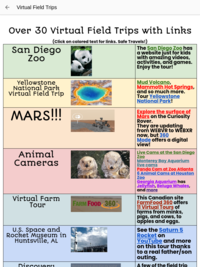Go on a virtual field trip