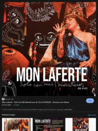 Mon Laferte - Sola con mis monstruos    https://www.hoopladigital.com/title/12810513