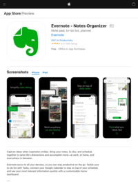 ‎Evernote on the App Store