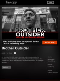 Brother Outsider | Kanopy