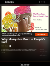 Why Mosquitos Buzz in People's Ears | Kanopy