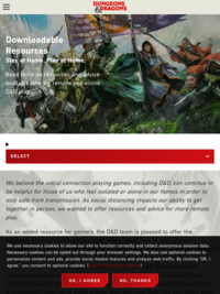 Dungeons & Dragons | Free Materials