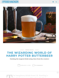 Butterbeer copy cat recipe