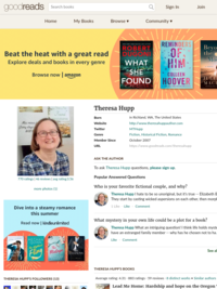 Find Theresa on Goodreads!