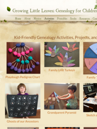 Growing Little Leaves: Kid-Friendly Genealogy Activities