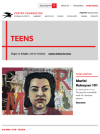 Teens | Poetry Foundation