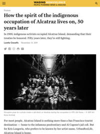 How the spirit of the indigenous occupation of Alcatraz lives on, 50 years later