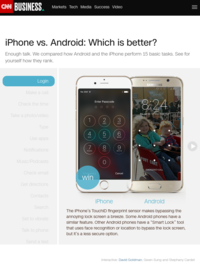 iPhone vs. Android: Which is better? - CNNMoney