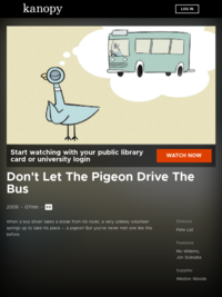 Don't Let The Pigeon Drive The Bus | Kanopy Kids