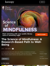 The Science of Mindfulness: A Research-Based Path to Well-Being | Kanopy