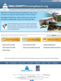 PimaCountyHousingSearch.org | Pima County Apartments | Pima County Rental Homes