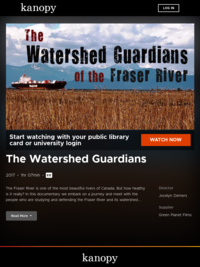 The Watershed Guardians | Kanopy
