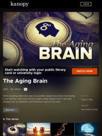 The Aging Brain | Kanopy