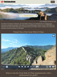 Great Wall of China Travel Guide | The China Guide