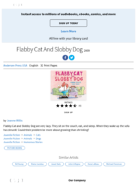 Flabby Cat and Slobby Dog - Instantly available on Hoopla