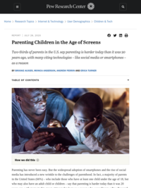 Parenting Children in the Age of Screens
