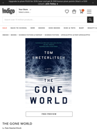The Gone World, Book by Tom Sweterlitsch (Hardcover) | chapters.indigo.ca