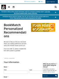 KCLS BookMatch