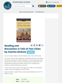 A Tale of Two Cities Book Discussion