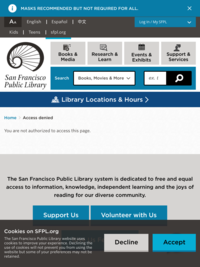 More information about SFPL To Go
