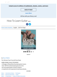 How to Learn Guitar