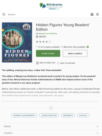 Hidden Figures Young Readers' Edition - Margot Lee Shetterly