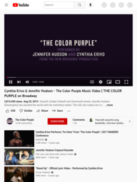 The Color Purple Music Video | THE COLOR PURPLE on Broadway - YouTube