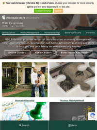 MSU Extension: Money Health Online Courses