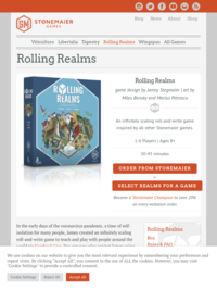 Stonemaier Games | Rolling Realms