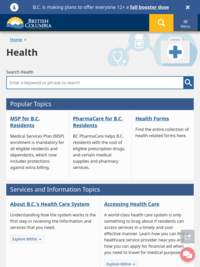 British Columbia - Health