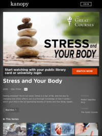 Stress and Your Body | Kanopy