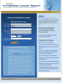 Find an Immigration Lawyer