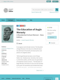 The Education of Augie Merasty –
