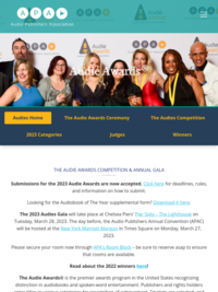 The Audies - Audio Publishers Association Audie Awards