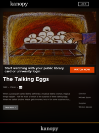 The Talking Eggs | Kanopy