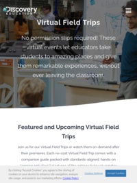 Even more virtual field trips from Discovery Education
