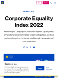 HRC's 2020 Corporate Equality Index | Human Rights Campaign