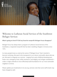 Refugee and Immigration Services, Lutheran Social Services of the Southwest (formerly Refugee Focus)