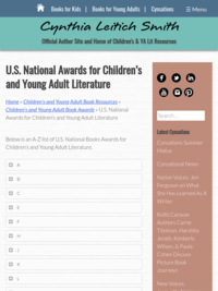 US National Awards for Children's and Young Adult Literature