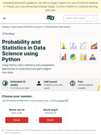 Probability and Statistics in Data Science using Python