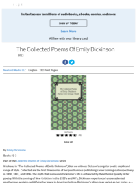 Complete Poems of Emily Dickinson (Hoopla)